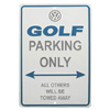 Golf Parking Only Sign Thumbnail