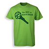 Key To Happiness T-Shirt Thumbnail