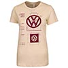 Ladies' VW Logo Specifications T-Shirt Thumbnail