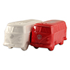T1 Bus Salt & Pepper Shakers - Red/White Thumbnail