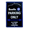 Beetle Parking Only Sign Thumbnail