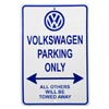 VW Parking Only Sign Thumbnail